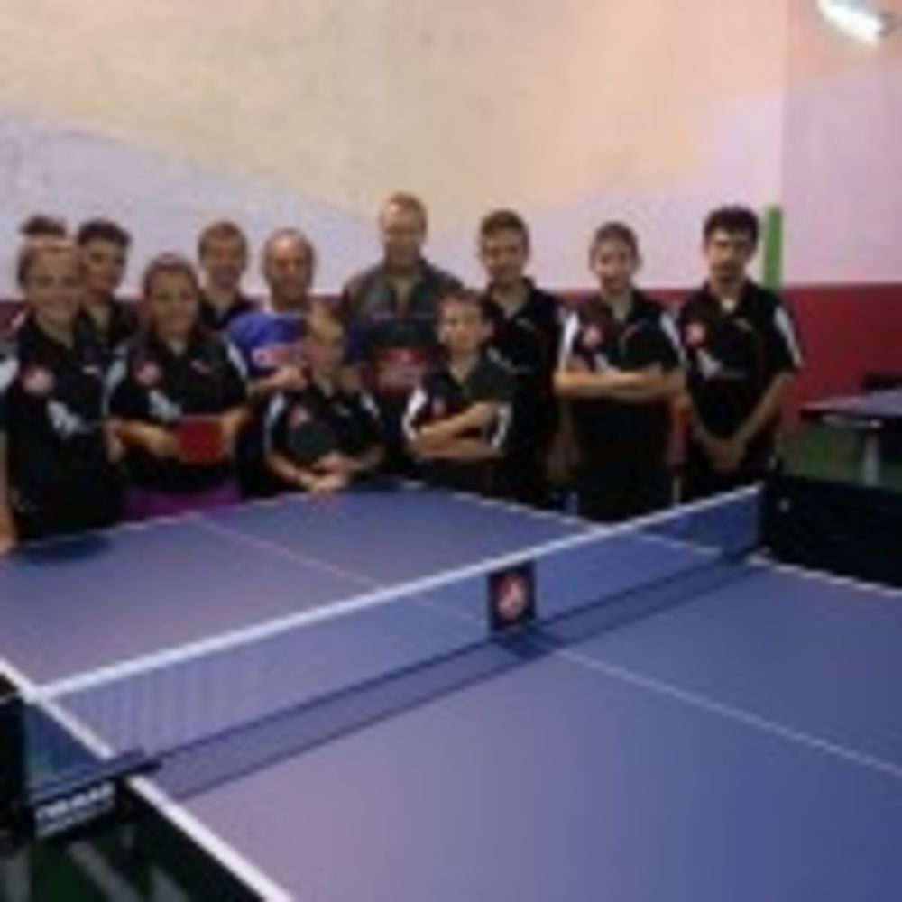 Selection of HiTT 1 & 2 Star students together with Danish coach Carsten Egeholt