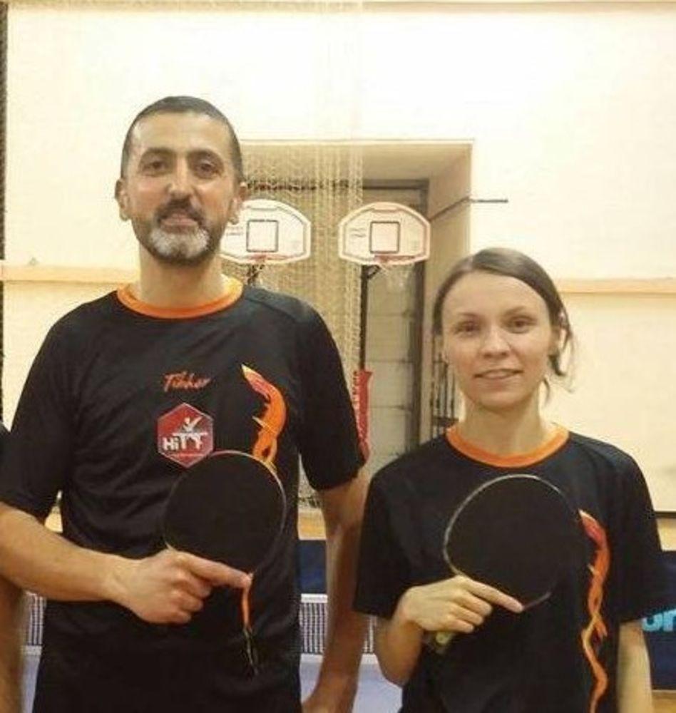 John Bonello and Elena Ermukhina