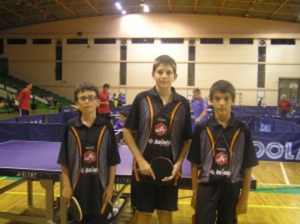 national table tennis league 3rd division Savio College HiTT Academy team