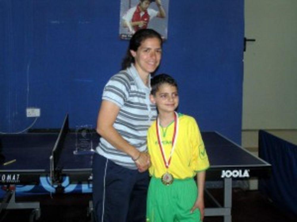 Ryan Paul Camilleri, Winner U13 Category (Interschools)