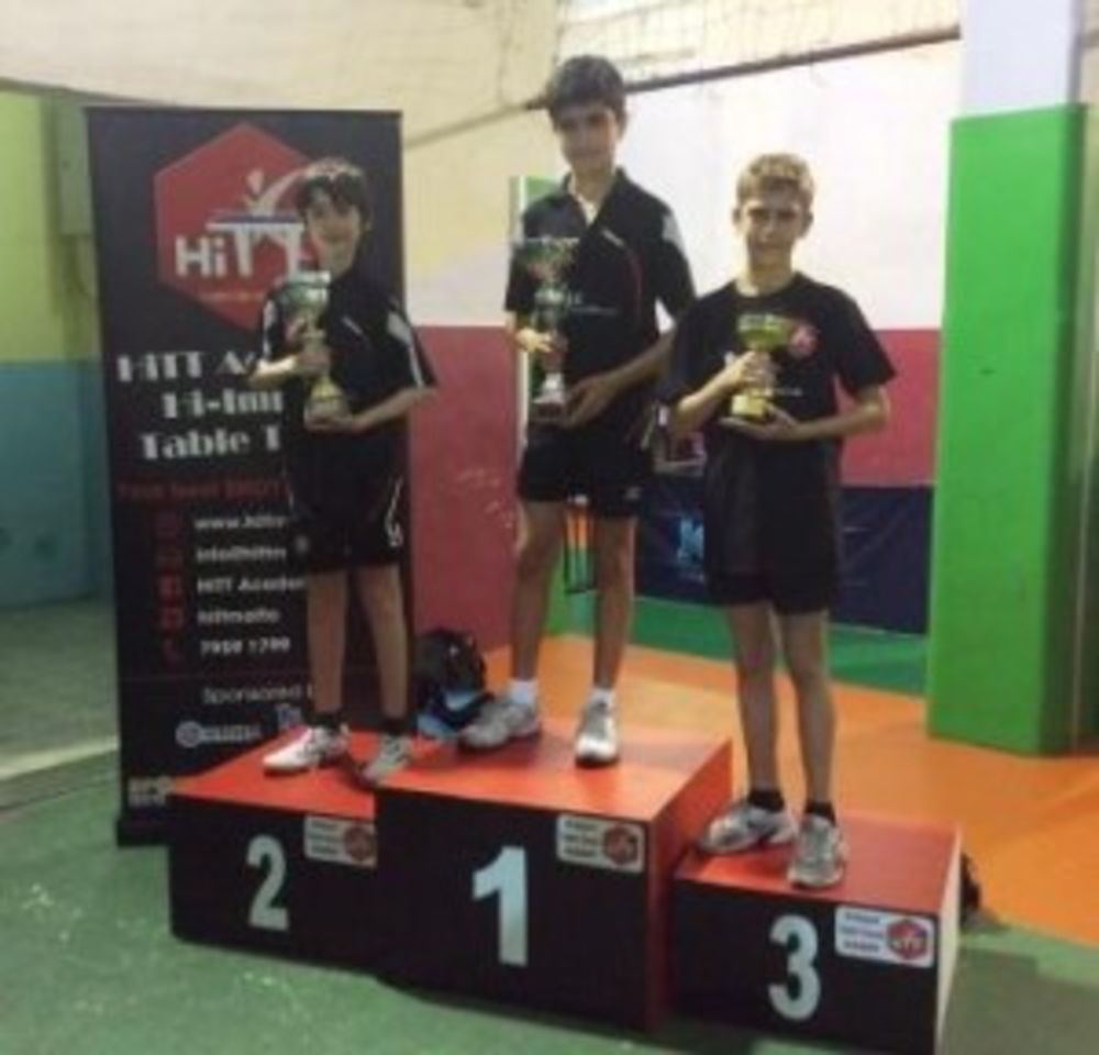 Winners of the 1 Star Group - HiTT Kristal 5th Ranking Tournament