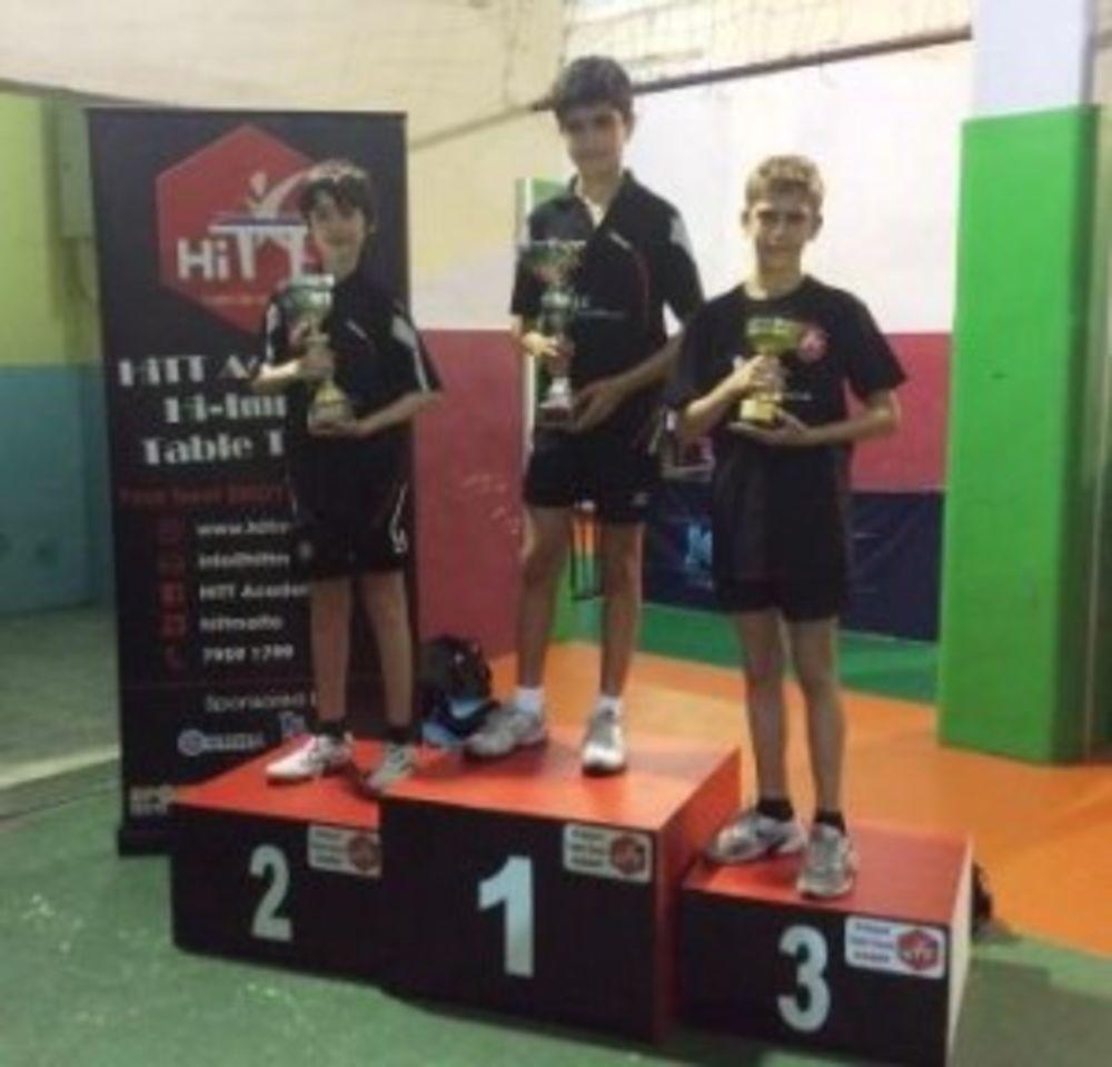 Winners of the 1 Star Group - HiTT Kristal 5th Ranking Tournament