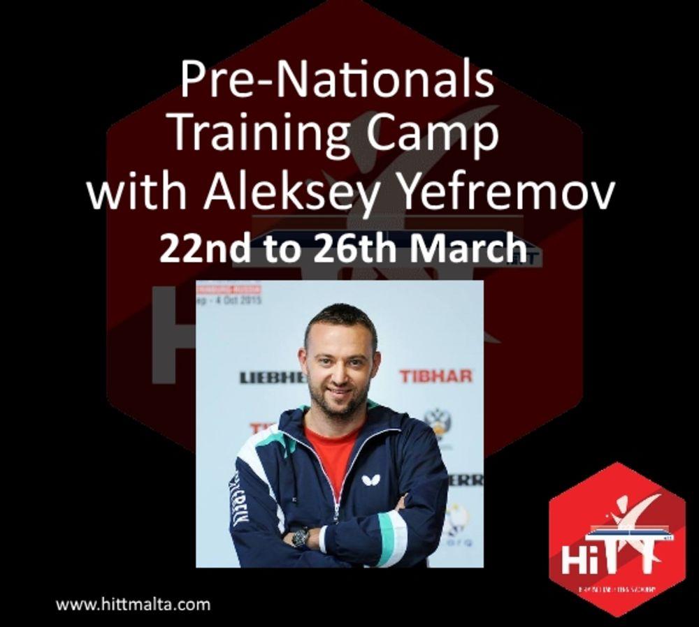 Easter Camp Aleksey Yefremov