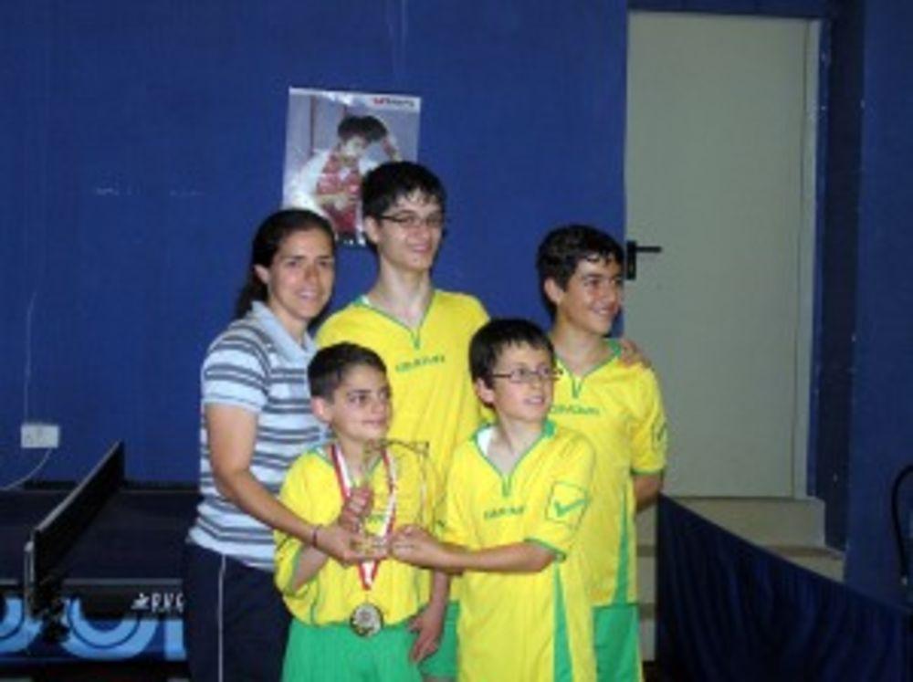 HiTT Students from Savio College - winners of U13 category