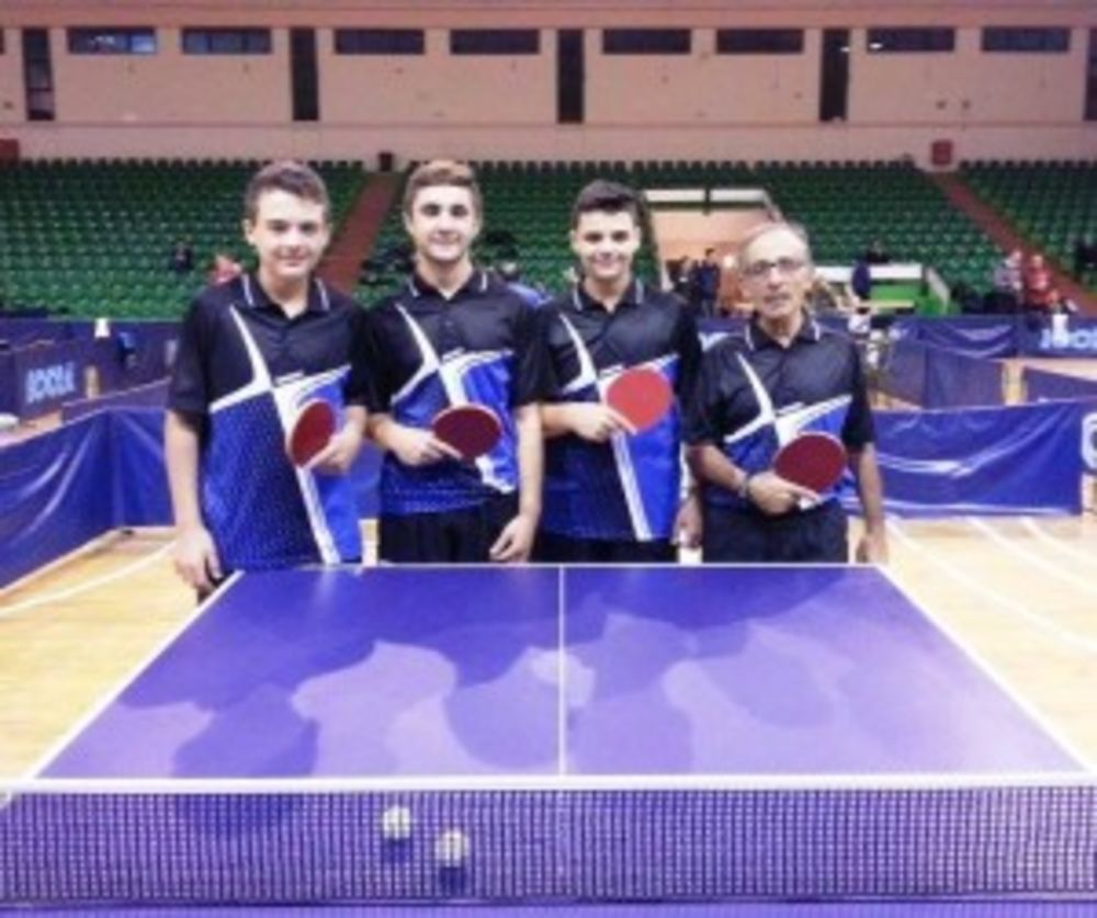 HiTT Academy Fleur de Lys team in National League Malta table tennis