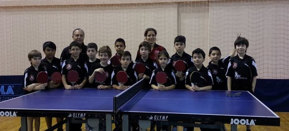 Under 11 HiTT Players in Malta National Championships 2014