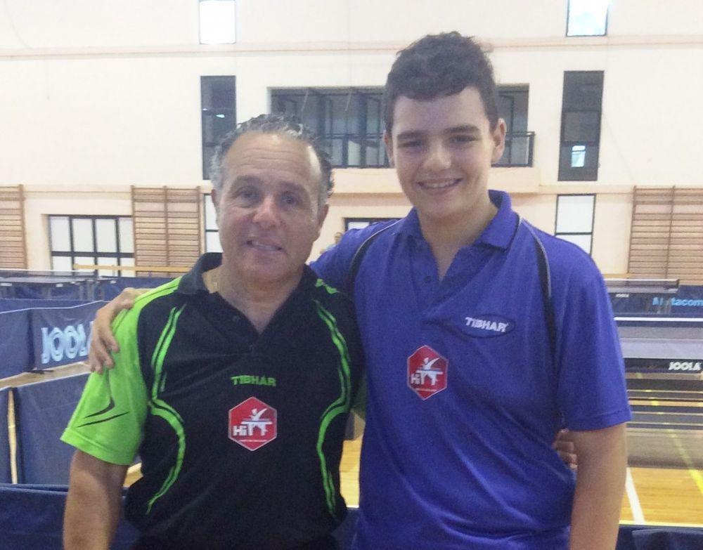 Isaac Grixti Malta National Championships Plate Men Singles 2014