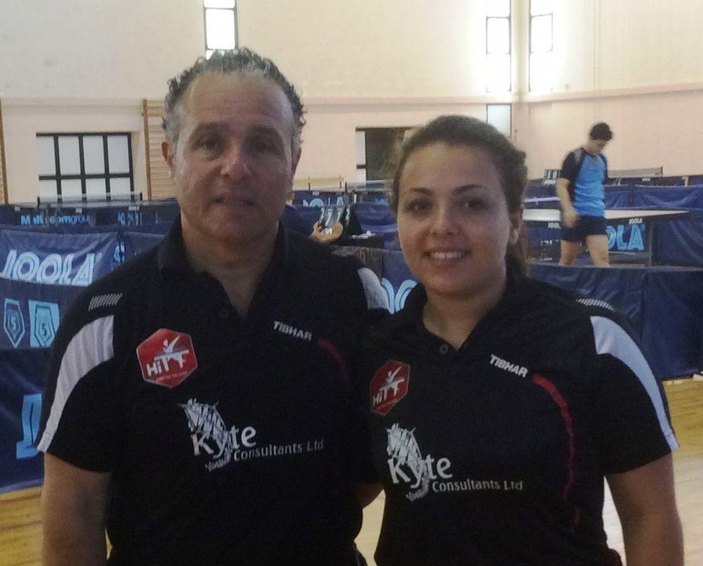 Therese Genovese HiTT Malta National Championships Ladies Singles 2014