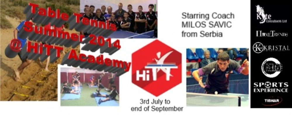 HiTT academy table tennis summer training 2014