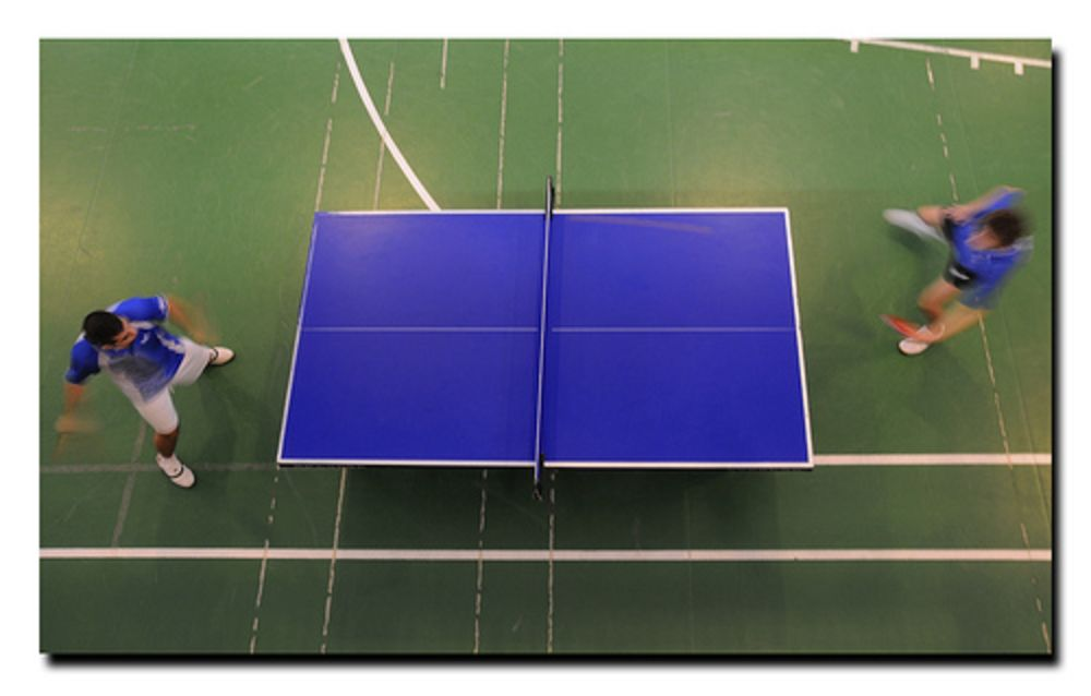 table tennis competition table