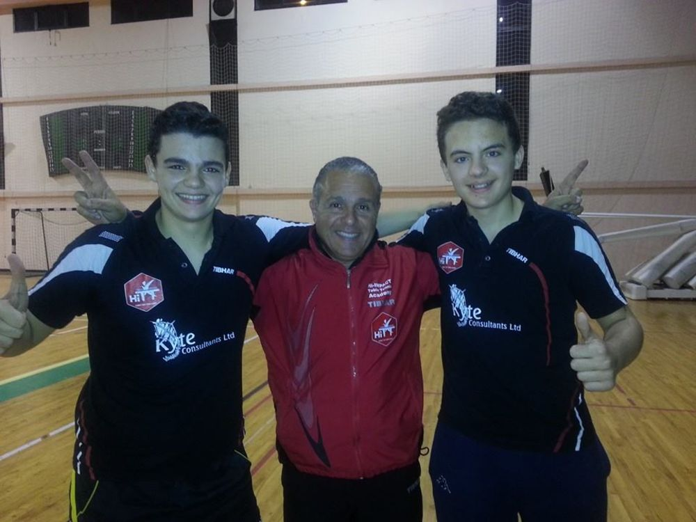 Gabriel Grixti, Isaac Grixti and Mario Genovese