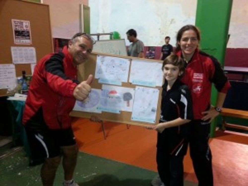 HiTT Academy table tennis drawing competition