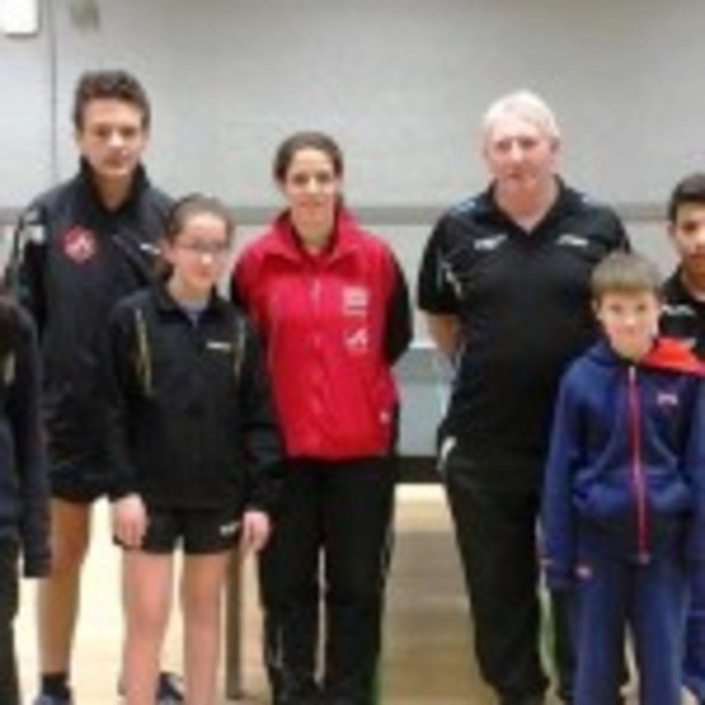 HiTT Academy Team with Thorntons TTC Team from England