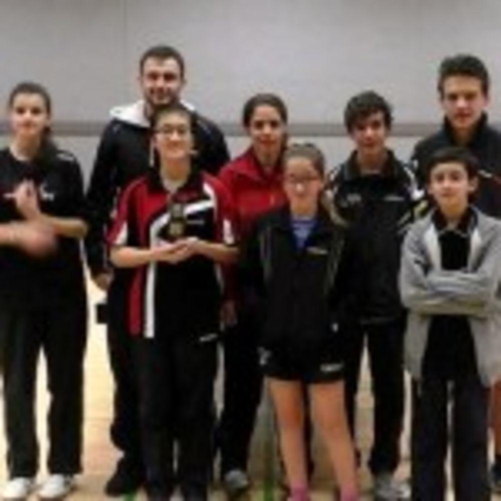 HiTT Academy Team with Urban TTC Team from England