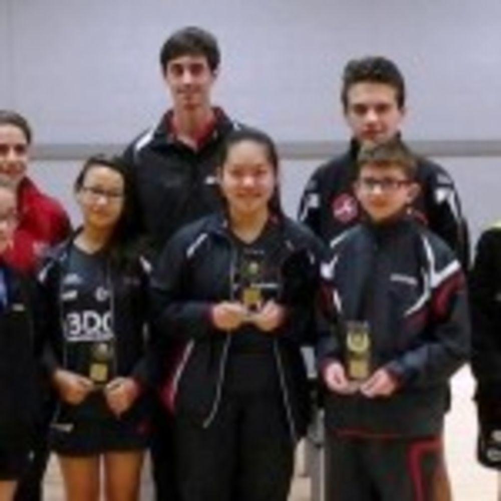 HiTT Academy Team with Team Luxembourg