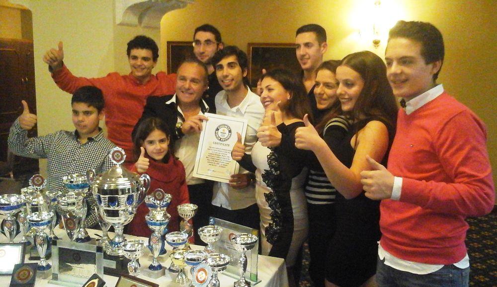 HiTT Academy players trophies Malta National Table Tennis Awards