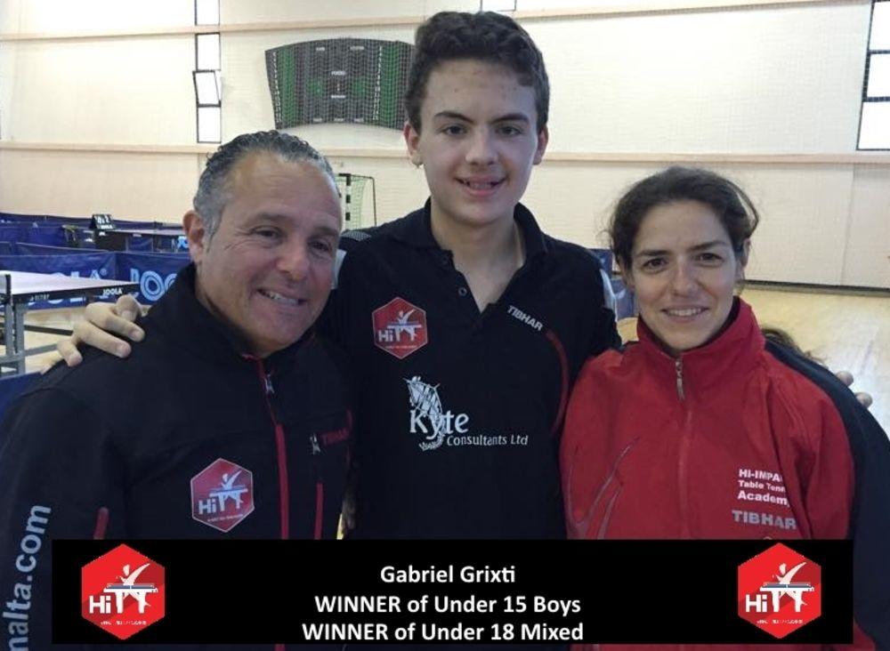 Under 15&18 Boys Winner