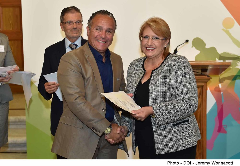Mario Genovese Ambassador for Sport Malta Community Chest Fund