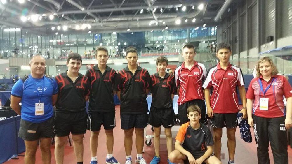 Cadet Team Malta with the Bulgarian selection