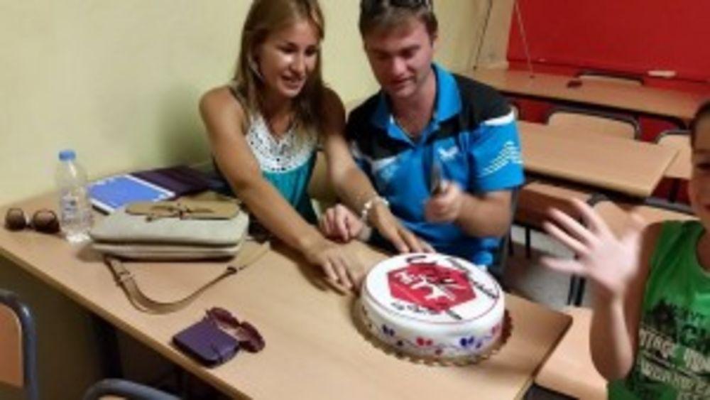 Uriy's birthday celebration