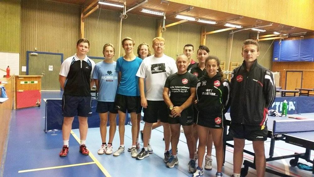 HiTT Academy training camp in Sweden