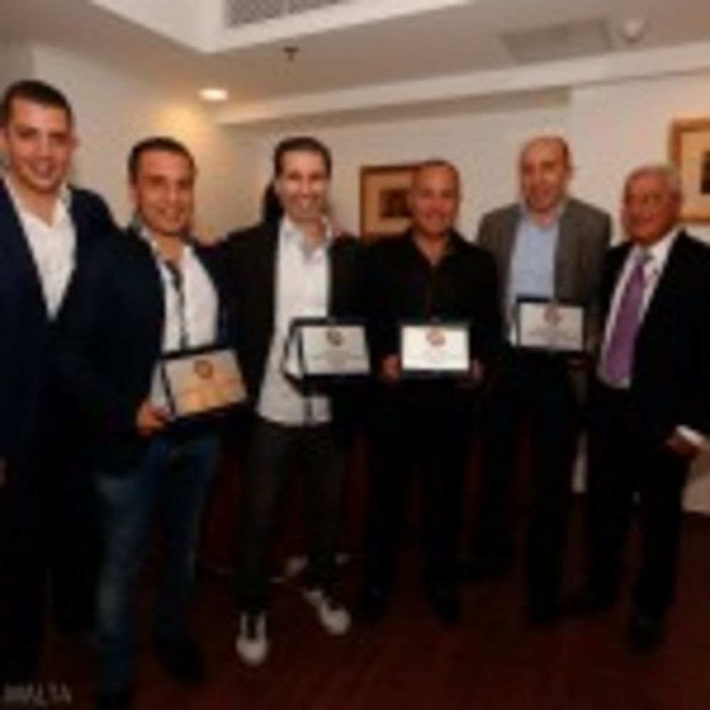 Malta's table tennis academy directors