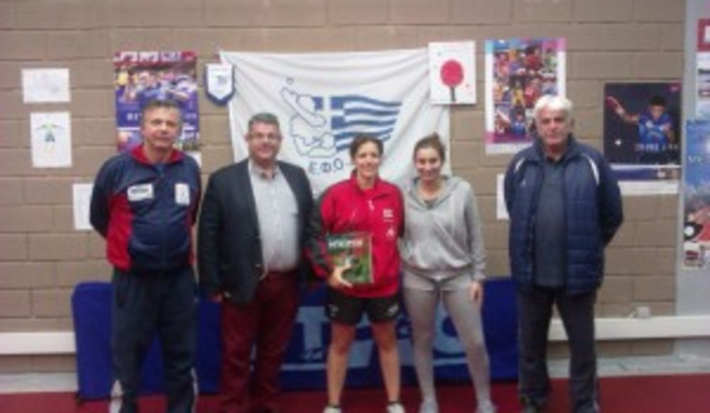 Such a wonderful time at the Friends of Table Tennis Club here in Ioannina..... — with Theologos Kapenitadis, Βασιλειος Λισγαρας, Katia Mifsud and Eytyxia Perris.