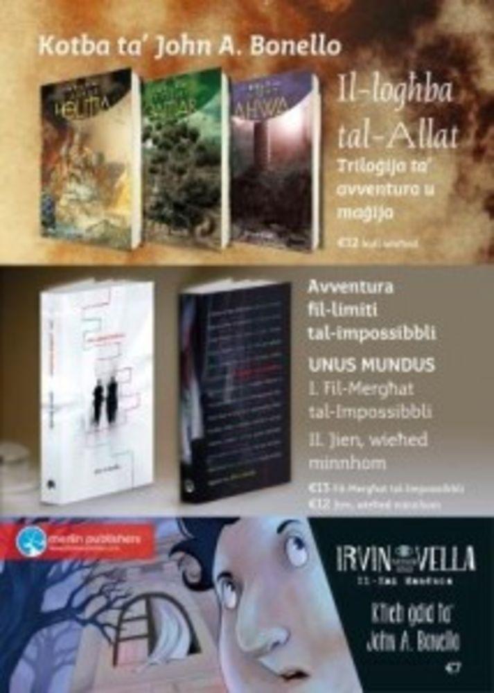 John Bonello book sale