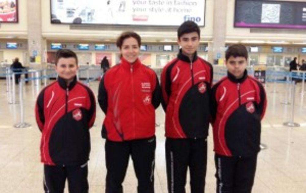 HiTT Academy Team for the Welsh Euro Challenge 2016