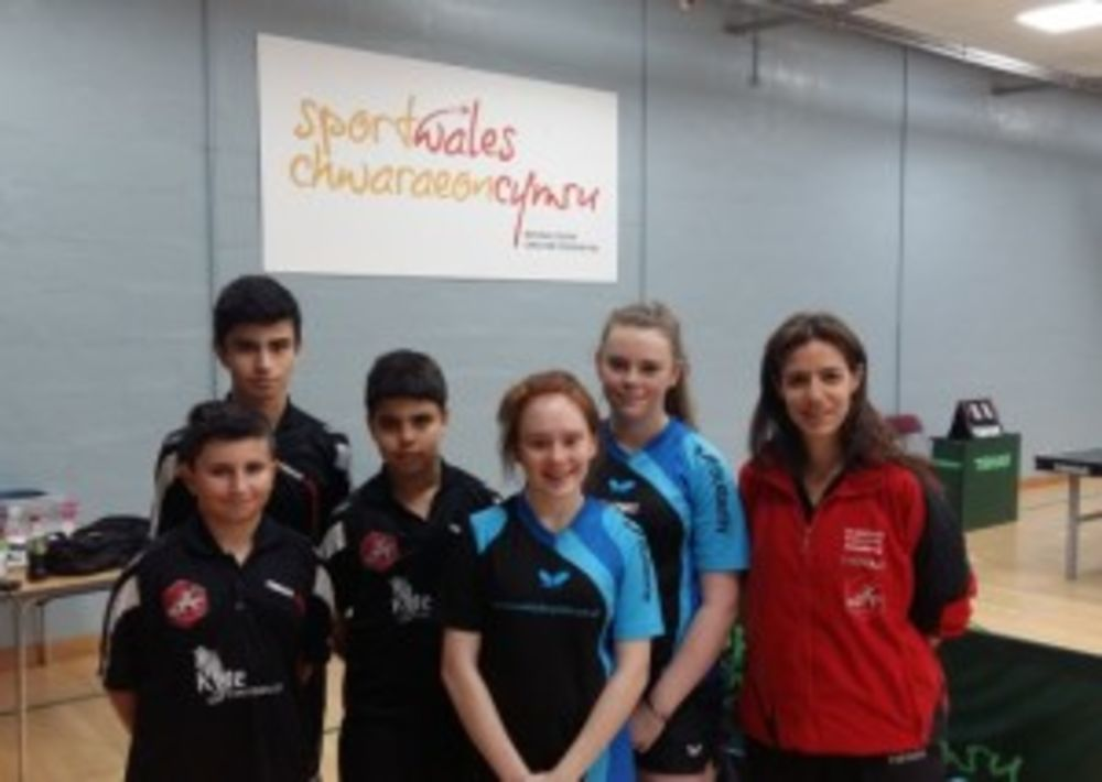 HiTT Malta team playing today in Welsh Euro Challenge. Maltese players joined by Jamie Lee and Cerys from Wales.