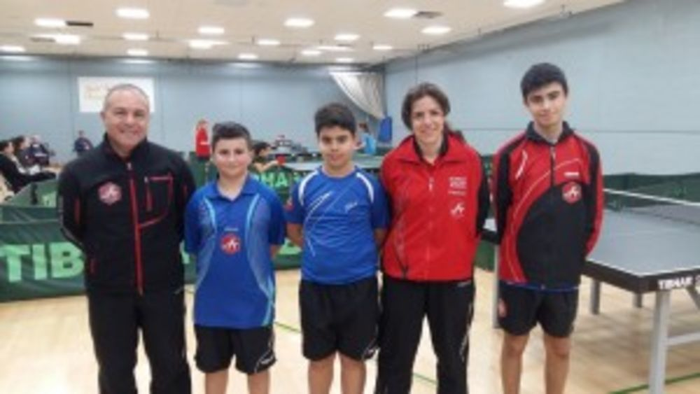 HiTT Academy players for the Singles Competition at the Welsh Euro Challenge