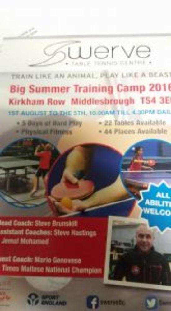 Swerve camp poster 2016