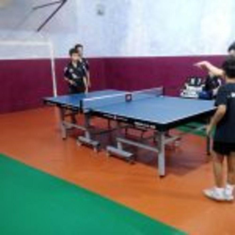 A doubles match