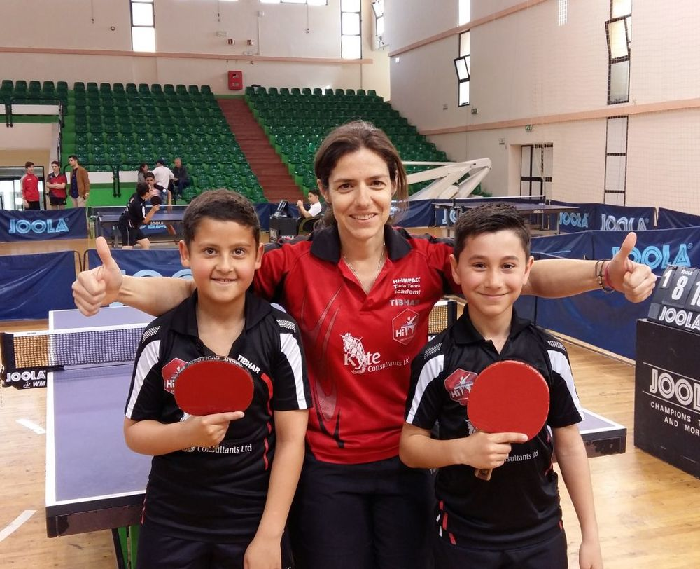 Under 11 Doubles CHAMPIONS Malta