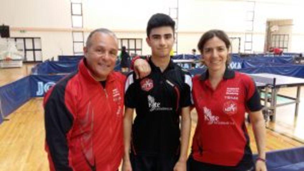 Under 21 Boys Plate CHAMPION Malta