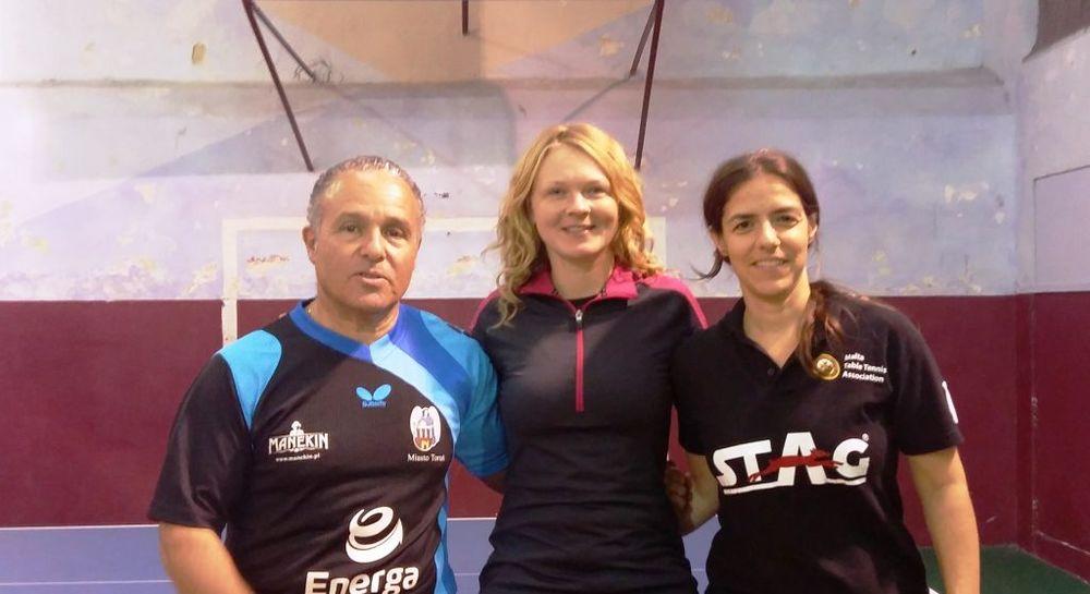 Mario Genovese, Aurelia  Kybartaite and Katia Mifsud
