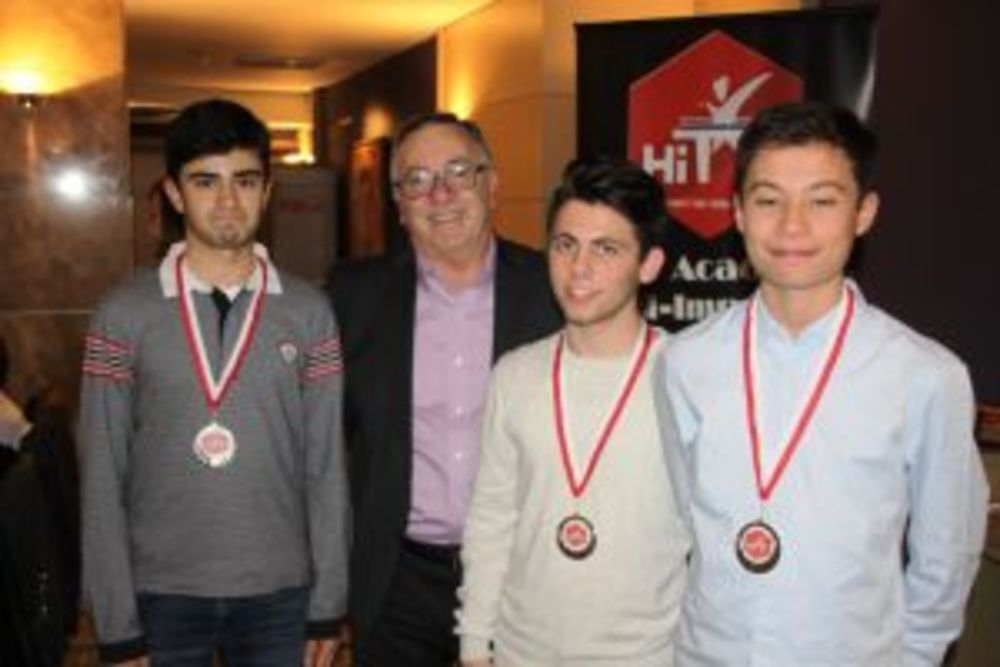 Best Improved Under 18 - HiTT Awards 2017