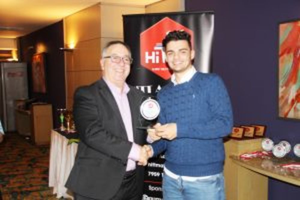 Isaac Grixti - Best Improved Under 21 - HiTT Awards 2017