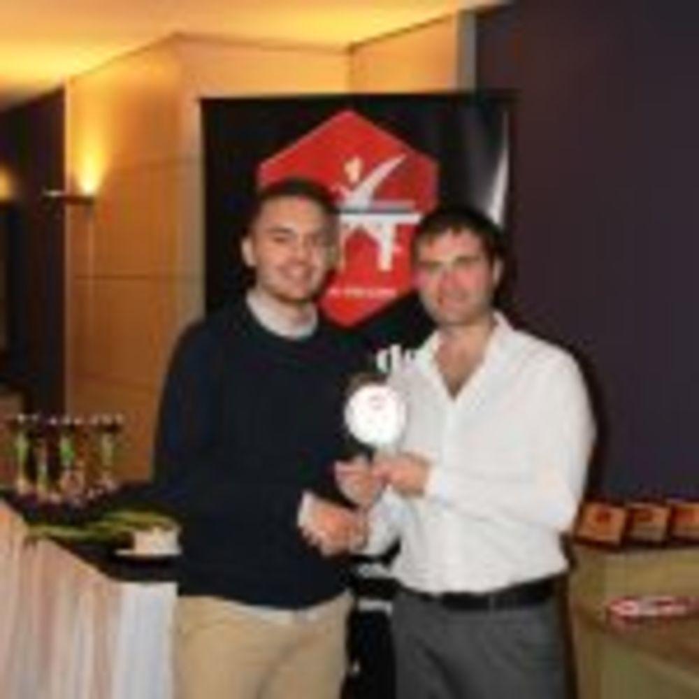 Gabriel Grixti - Best Improved HiTT Elite Player - HiTT awards 2017