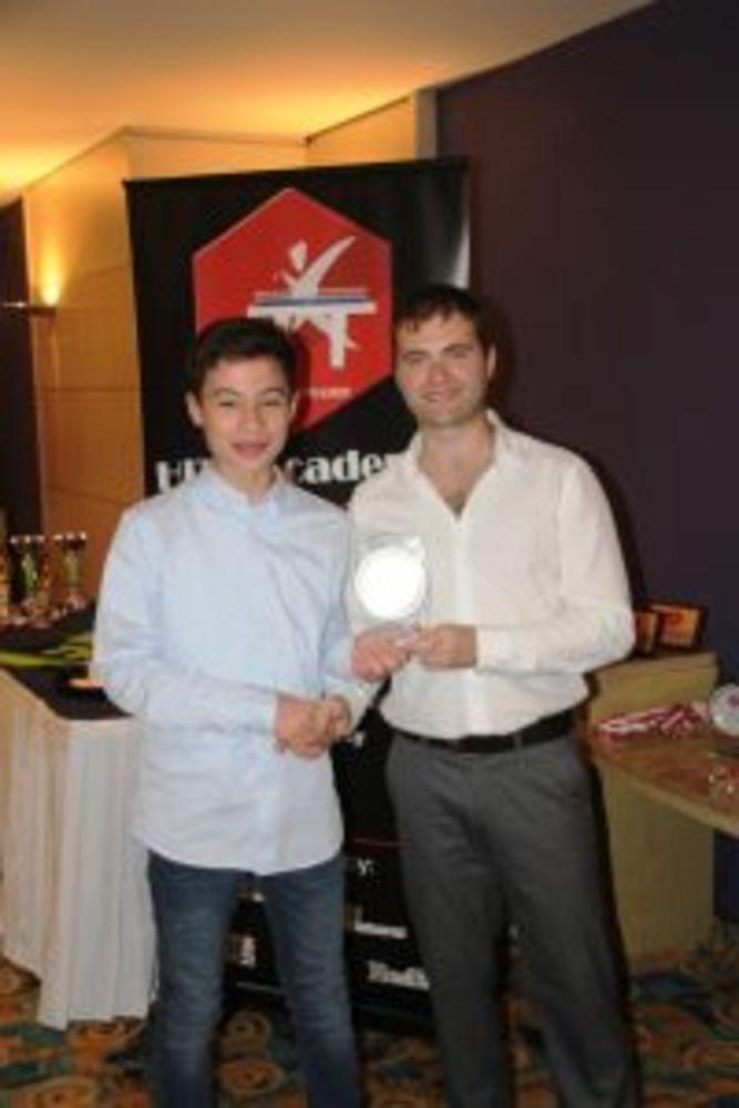 Samuel Cutajar - Most Dedicated HiTT Student - HiTT Awards 2017