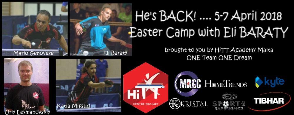 easter camp 2018 Eli Baraty HiTT Academy