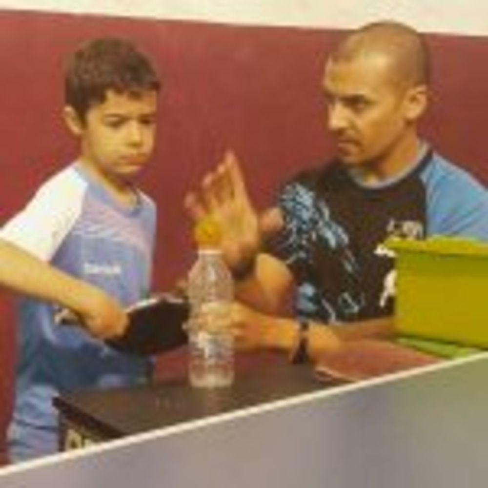 Training session with Eli Baraty - Nigel