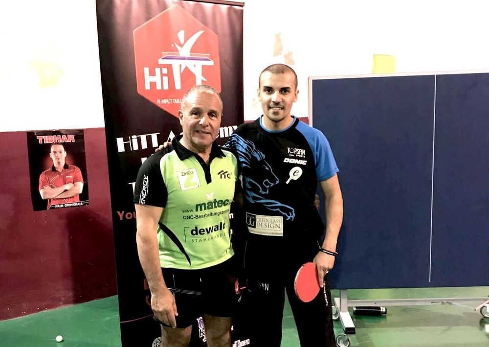 Exclusive table tennis programme with Eli Baraty