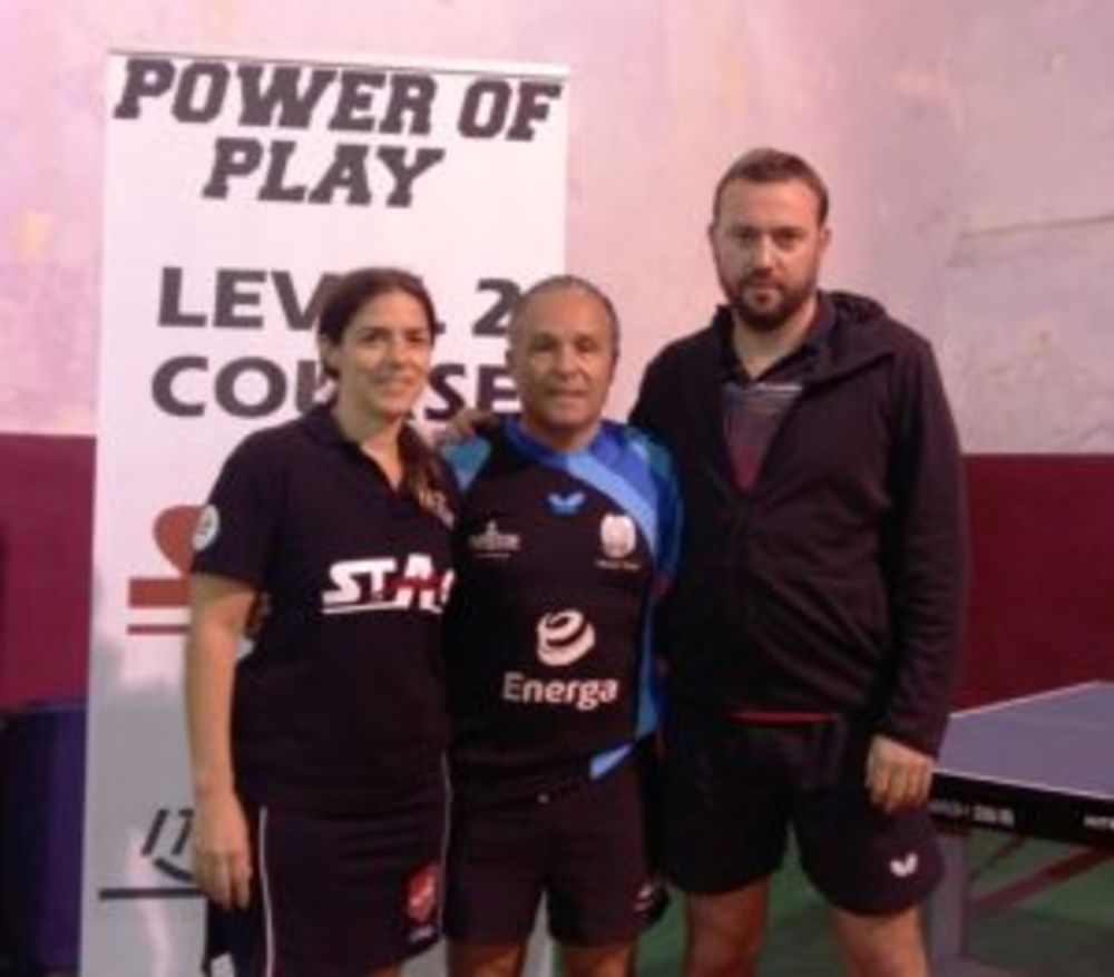 Level 2 ITTF Malta with Aleksey Yefremov