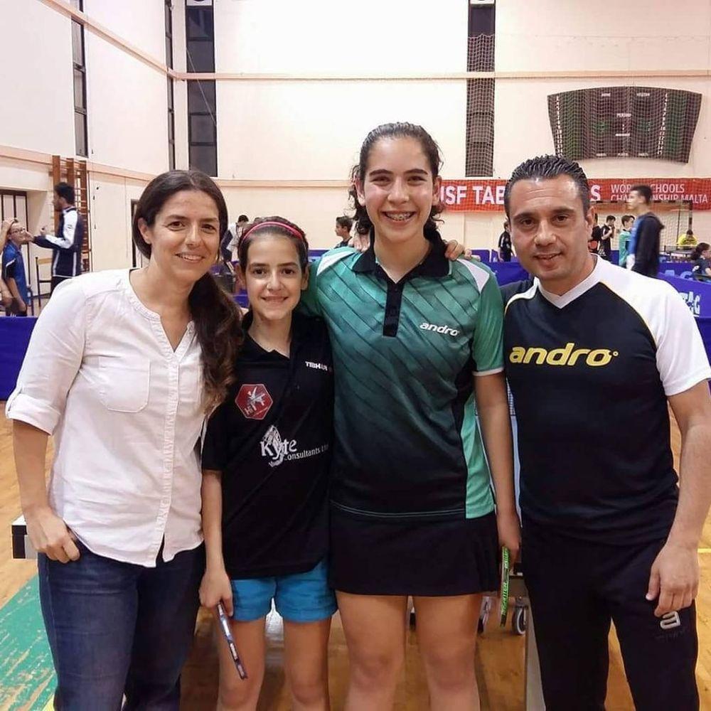 Under 15 Girls Doubles GOLD