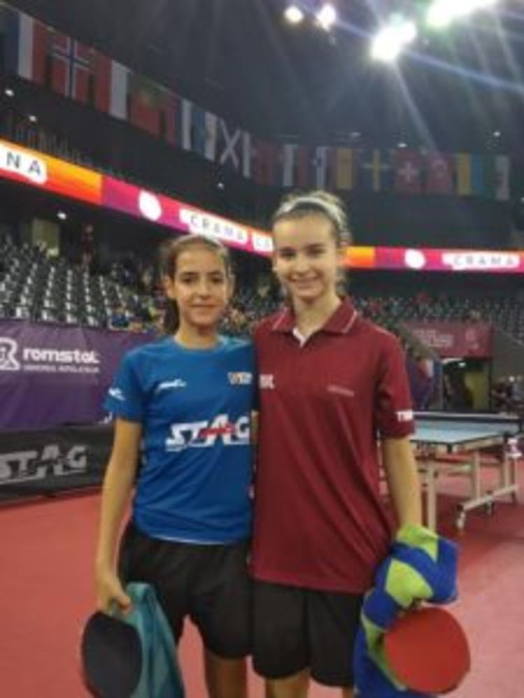 HiTT Academy player Rachel Mifsud in Cluj, Romania