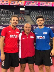 HiTT Academy players in Cluj, Romania