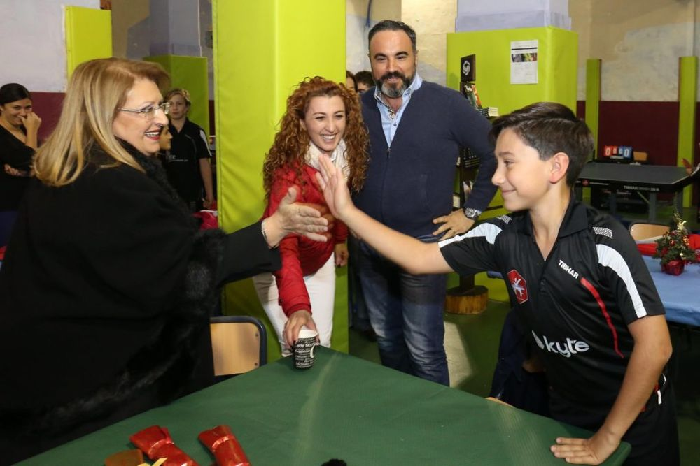 €2,000 raised during 3 table tennis events