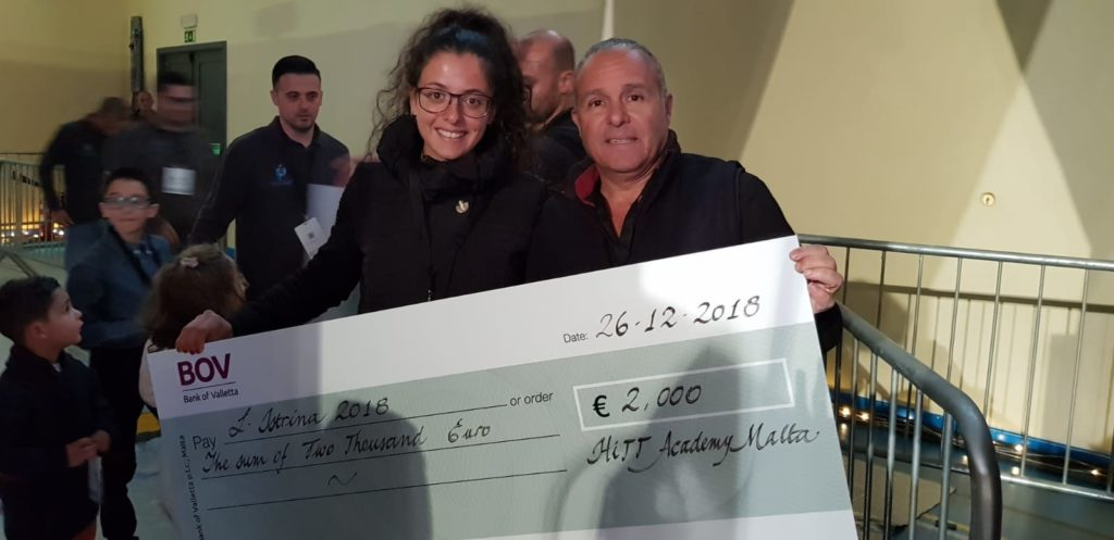 Istrina 2018 – €2,000 raised during 3 table tennis events