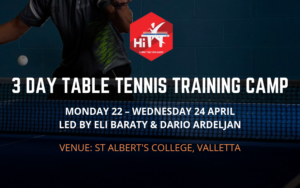 Easter Camp 2019 - HiTT Malta Table Tennis Academy